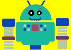 太っているロボット