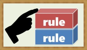 小さなルールを積み重ねる