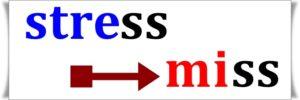 STRESS→MISS
