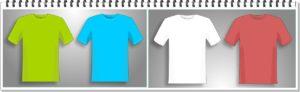 Tシャツ4枚