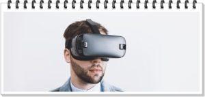 VRをしている男性