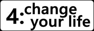 4:change your lifeの文字