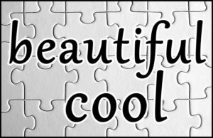 beautiful-coolの文字
