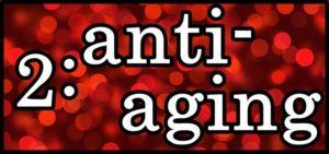 2:anti-agingの文字
