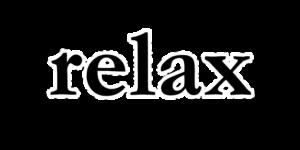 relaxの文字