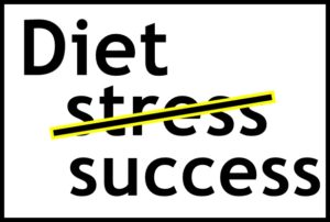 Diet Stress Successの文字