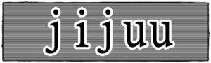 jijuuの文字