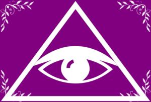三角形の目