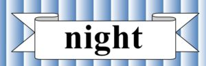 nightの文字