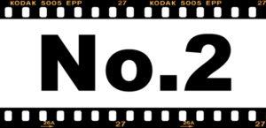 No.2の文字