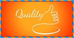 qualityの文字
