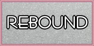 REBOUNDの文字