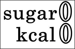 砂糖もキロカロリーもゼロ