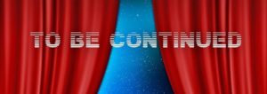 to be continuedの文字