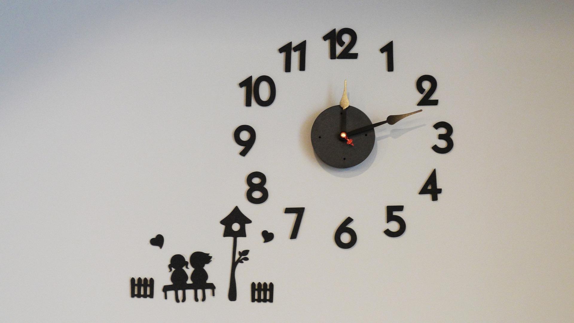 壁掛けの時計