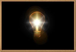 電球と明かり