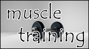 ダンベルとマッスルトレーニング
