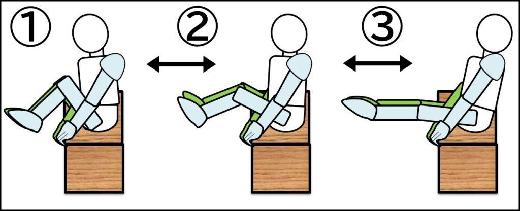 プリズナートレーニング 腹筋 ステップ1