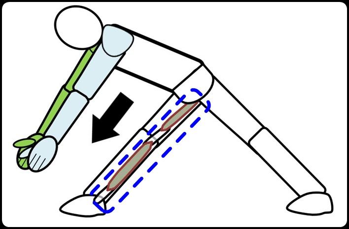 ひざ裏の伸ばし方