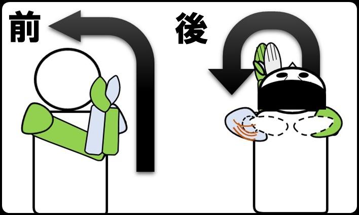 肩甲骨の伸ばし方 その1
