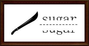 刀で切るsugar