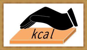 kcalを抑えている