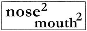 noseの2乗 mouthの2乗