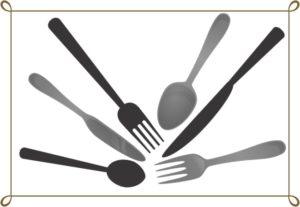 スプーンとフォークとナイフ