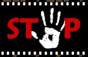 STOPのフィルム