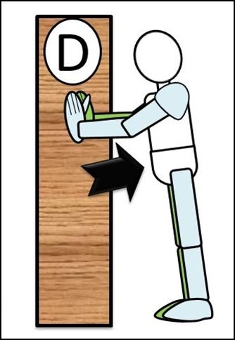 腕立て伏せ ステップ1 体を上げ始め