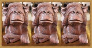 3匹の見猿