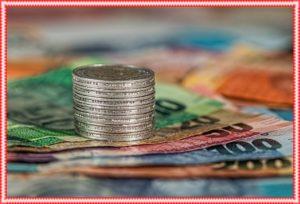 お金 コインと札