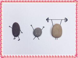 石のトレーニング