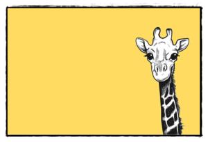 キリンの絵