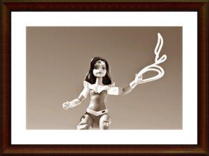 縄を持つ人形