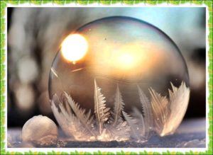 透明なボール