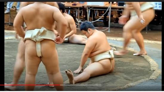相撲の股割