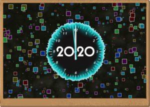 2020の時計