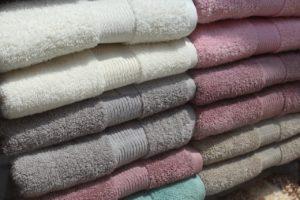 たくさんのタオル