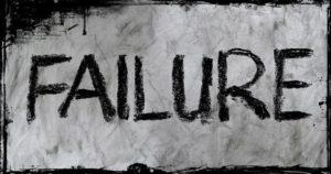 FAILUREの文字