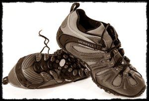 アウトドアの靴