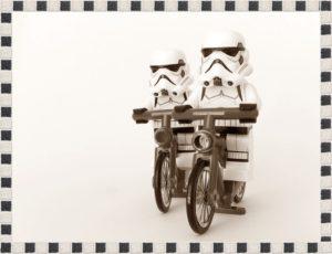 自転車のペース