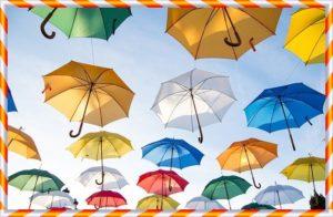 たくさんの傘