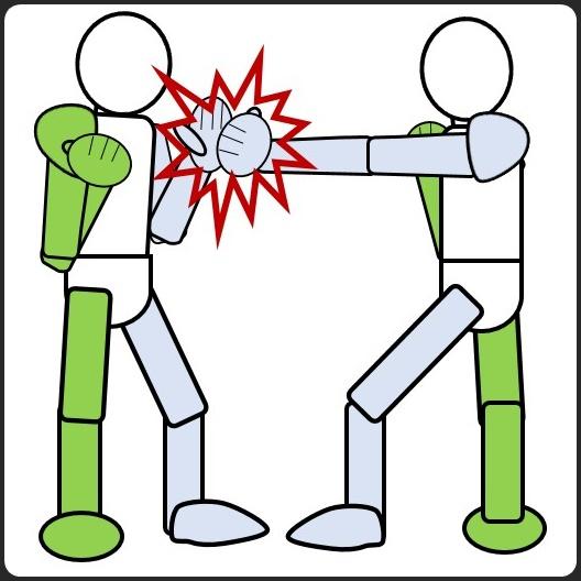 ボクシングの反復練習