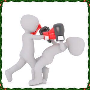 ボクシングの練習