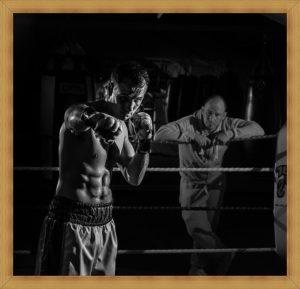 ボクサーとトレーナー