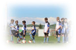 サッカーの子どもたちのチーム