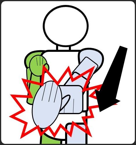反復練習 左ジャブの落とし方