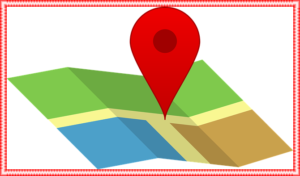 グーグルマップの目的地