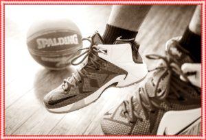 バスケットボールの靴